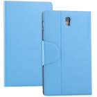 Protective PU Leather Case Stand Cover for Samsung Galaxy Tab S 8.4 T700 - Sky Blue