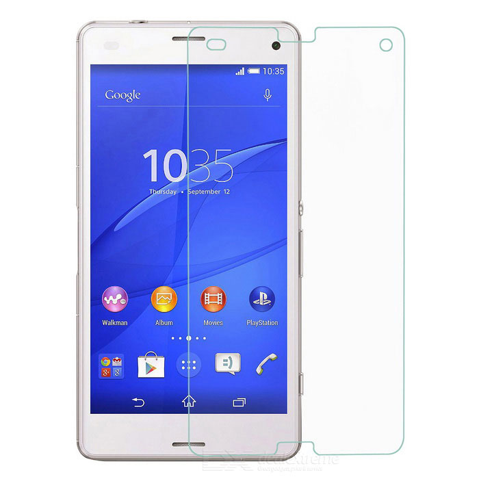 Tempered Glass Film for Sony Xperia Z3 Mini / Z3 Compact - Transparent