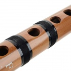 HL-003 Chinese Traditional Handcrafted Bamboo Flute (F-Key) - Black + Brown