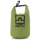 AOTU AT6623 Outdoor Rafting Waterproof Storage Bag Pouch for Phones, Cameras - Green
