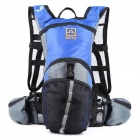AOTU AT6901 Climbing / Cycling Backpack for Water Bladder / Hydration Reservoir - Blue + Black