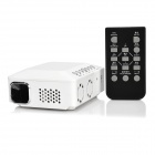 FB5800 Portable HD Car DLP Projector w/ HDMI / VGA / 2-USB - White