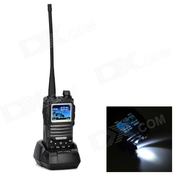 SMT T-88 1.8 Color Screen Multimedia Walkie Talkie w/ 1.3MP Camera, TF, FM, MP3 / MP4 Function walkie talkie pofung baofeng tf 319 8w uhf 400 480 128 fm vox pofung tf 319