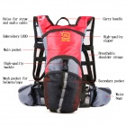 AOTU AT6901 Climbing / Cycling Backpack for Water Bladder / Hydration Reservoir - Red + Black