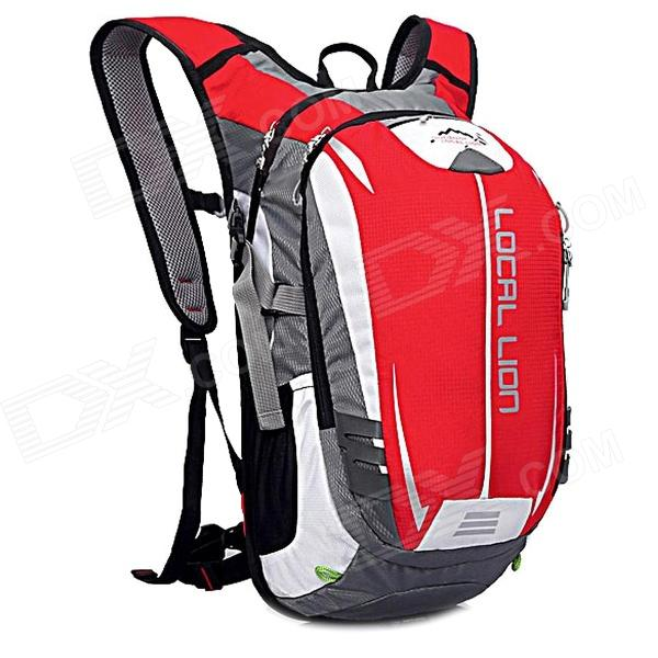 LOCAL LION SPO464 Outdoor Cycling Climbing Ultra Light Breathable Double Shoulder Bag Backpack - Red atamjit singh pal paramjit kaur khinda and amarjit singh gill local drug delivery from concept to clinical applications