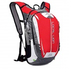 LOCAL LION SPO464 Outdoor Cycling Climbing Ultra Light Breathable Double Shoulder Bag Backpack - Red