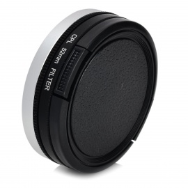 52mm CPL Filter + Adapter Ring + Lens Cover Set for GoPro HD Hero 3+ / Hero 3