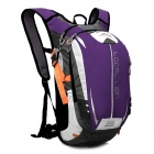 LOCAL LION SPO464 Cycling Climbing Ultra Light Breathable Double Shoulder Bag Backpack - Purple