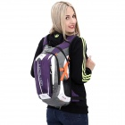 LOCAL LION Cycling Climbing Ultra Light Breathable Double Shoulder Bag Backpack - Purple