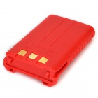 BAOFENG Replacement 7.4V 1800mAh Battery for Walkie Talkie UV-5R 5RA 5RD - Red