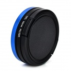 + Adaptador 52mm CPL Lente Anillo + lente cover set para GoPro HD Hero 3 / Héroe 3 + - Negro + Azul