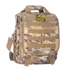 JUNGLE MAN T188 Outdoor Climbing Camping Laptop Notebook Computer Bag Backpack - Desert Camouflage