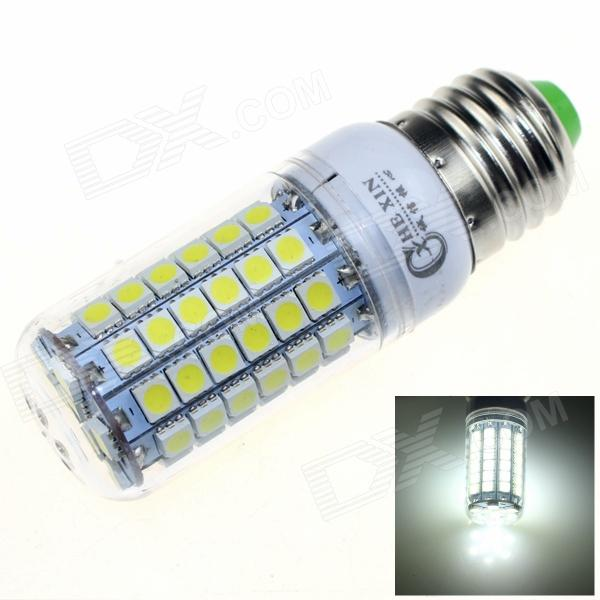 CXHEXIN E27CX69 E27 13W 6000K 840lm 69-5050 SMD LED White Light - White  (AC 200~265V)