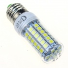 CXHEXIN E27CX69 E27 13W 840lm 69-5050 SMD LED Cold White Light Lamp