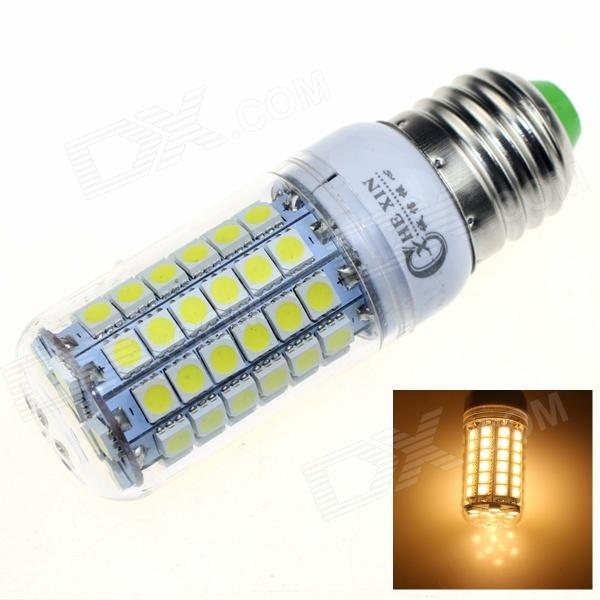 CXHEXIN E27CX69 E27 13W 3000K 840lm 69-5050 SMD LED Warm White Light - White (AC 200~265V) cxhexin e27cx24 e27 7w 3000k 500lm 24 5630 smd led warm white light white ac 85 265v