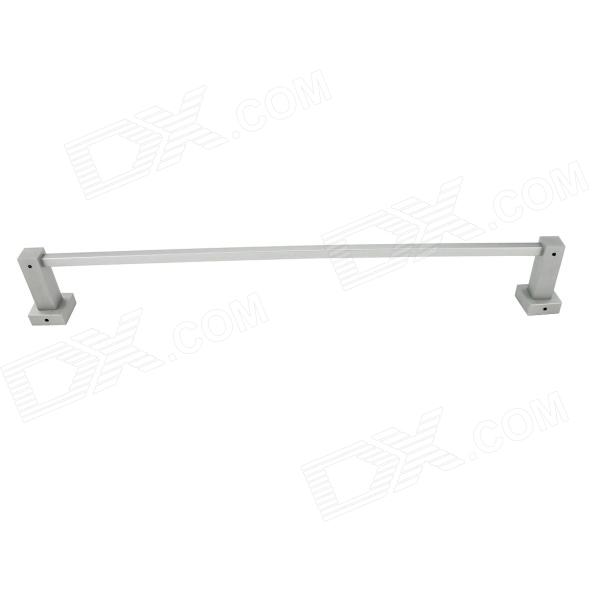 YDL-JD-2501 Aluminium-magnesium Alloy Single Bar Towel Holder - Silver aluminium alloy headset stand holder