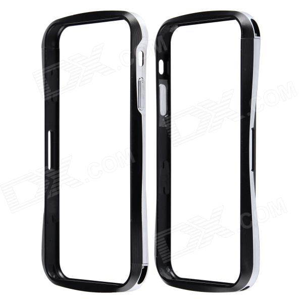 Protective Anti-radiation Aluminum Alloy Bumper Frame Case for IPHONE 5 / 5S - Black аксессуар защитное стекло xiaomi mi5s plus gecko 0 26mm zs26 gxmmi5splus
