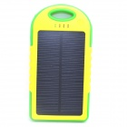 ODEM 5V 5000mAh Dustproof Shockproof Waterproof Li-polymer Battery Solar Powered Power Bank