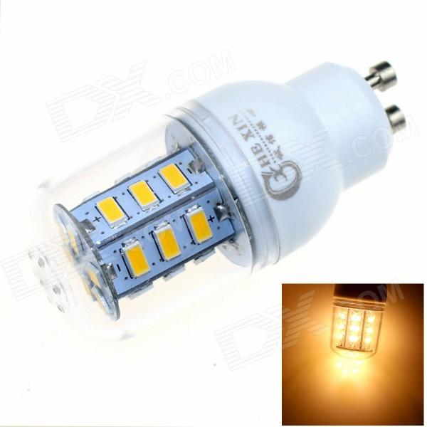 CXHEXIN GU10CX24 GU10 7W 3000K 500lm 24-5630 SMD LED Warm White Light - White (AC 85~265V) cxhexin e14cx24 5630 e14 5w 3000k 400lm 24 5630 smd led warm white light bulb white ac 85 265v