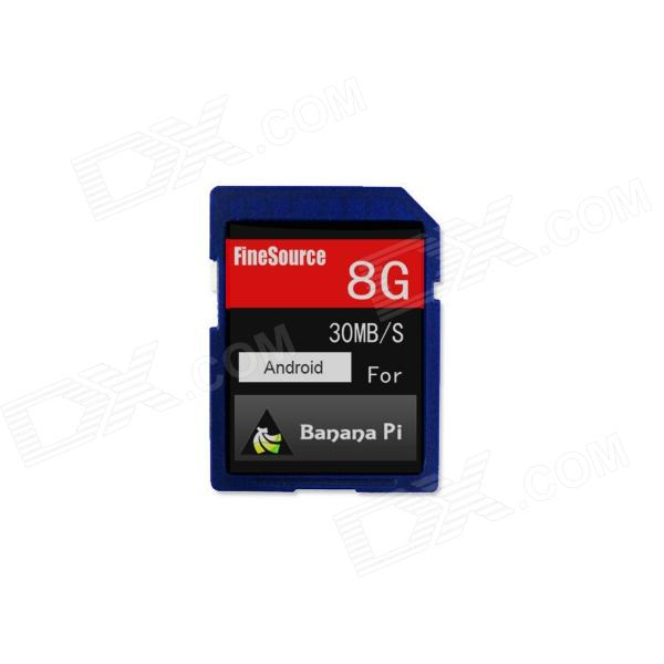 FineSource Class 10 8GB SD Card for Banana Pi (Android 4.2 OS is Inside)