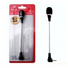 Feinier FE-123 Mini Microphone w/ 3.5mm Jack for PC Laptop - Black