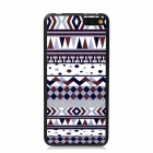 Elonbo Vintage Stripe Plastic Back Case for Amazon Fire Phone - White + Brown + Multi-Color