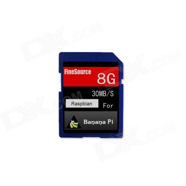 FineSource Class 10 8GB SD Card for Banana Pi - Blue