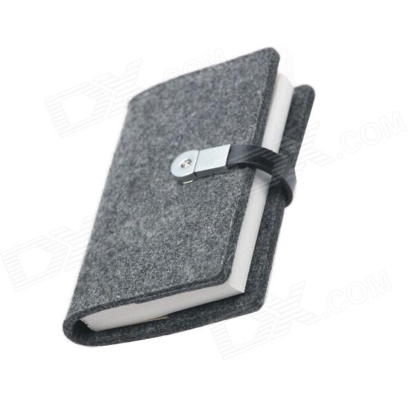 U BOEK S02-CJ3214 32K Kaart Textuur 2.0 Portable Notepad USB-sticks (8GB)
