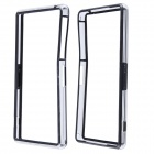 Fashion Protective Plastic Bumper Frame Case for Sony Xperia Z2 - Black