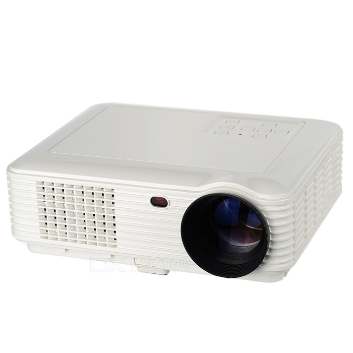 DX / RQ SV-228 LED Projector 1080p HDMI HD Projector - White (EU Plug)