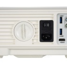 RQ SV-228 LED-projector 1080p HDMI HD-projector - White (EU Plug)