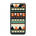 Elonbo Vintage Stripe Plastic Back Case for Amazon Fire Phone - Orange + Black + Multi-Color
