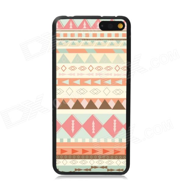 Elonbo Vintage Stripe Plastic Back Case for Amazon Fire Phone - Beige + Pink + Multi-Color elonbo vintage stripe plastic back case for amazon fire phone beige pink multi color