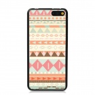 Elonbo Vintage Stripe Plastic Back Case for Amazon Fire Phone - Beige + Pink + Multi-Color