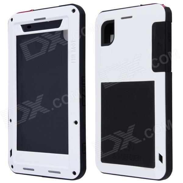 LOVE MEI AL01 Stylish Protective Aluminum Alloy Case for Sony Xperia Z2 - White