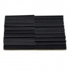 MaiTech 2.54mm 40-Pin Single-row Female Header - Black (80 PCS)