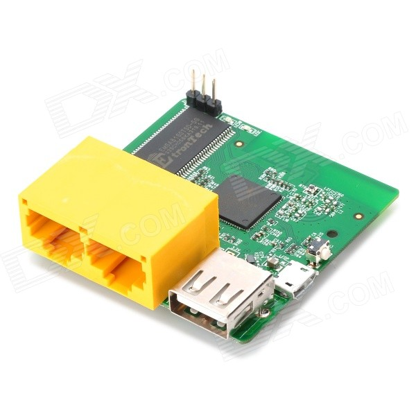 GL.iNet Wi-Fi Router OpenWrt SSH USB 64Mbyte RAM Wireless Repeater PCB Board - Green