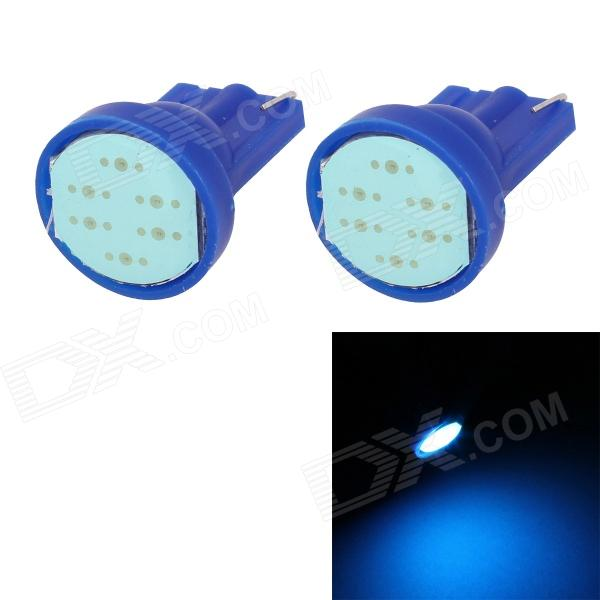 MZ T10 COB 2W 80LM Ice Blue Light License Plate Light / Clearance Lamp / Signal Light (12V / 2 PCS)