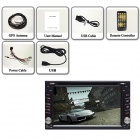 Joyous J-2813A Android 4.2 Car DVD Radio for Nissan TIIDA / SYLPHY / SUNNY / QASHQAI + More - Black