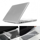 "ENKAY Protective PC Full Body Case and TPU Keyboard Film for MacBook Pro 15.4"" - Silver"