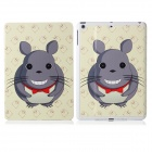 DF-008 Cartoon Mouse Pattern Flip Open PU Leather + Plastic Case w/ Stand / Auto-Sleep for IPAD AIR