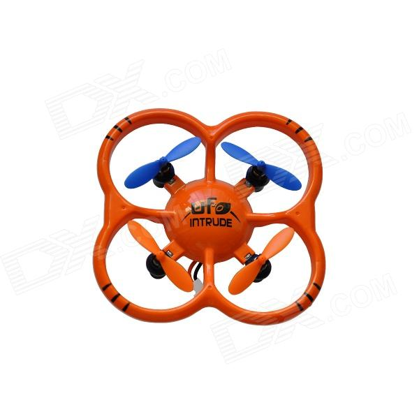 NIHUI U207 2.4GHz 6-Axis R/C Mini Quadcopter UFO w/ Gyro - Orange