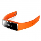 Wireless Bluetooth Smart Bracelet with Pedometer, Calorie Function, Sleep Tracker - Orange
