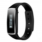 Wireless Bluetooth Smart Bracelet with Pedometer / Calorie Function / Sleep Tracker - Black