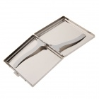 Ultra-Thin Fashion Sinkkiseos Cigarette - Silver