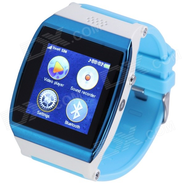 AOLUGUYA S11 1.55 Touch Screen GSM Smart Watch w/ Anti-Lost Bluetooth Pedometer, Anti-Theft Monitor матовое защитное стекло ainy для apple iphone 7 plus