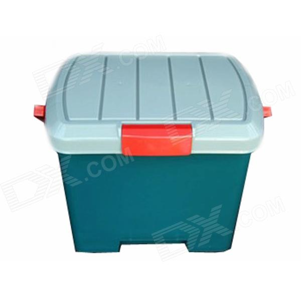 FL-1 Outdoor Multifunction PP Storage Box w/ Handle - Green (L) spark storage bag portable carrying case storage box for spark drone accessories can put remote control battery and other parts