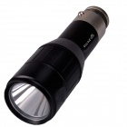 RichFire SF-CT1 900lm White Vehicle Charging Flashlight w/ CREE XM-L2 U3 - Black + Silver (1x16340)