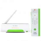 Guigi AK9 Android 4.2 Dual-Core Mini PC TV Box w/ Wi-Fi, 2.0MP Cam, 1GB RAM, 8GB ROM - White + Green