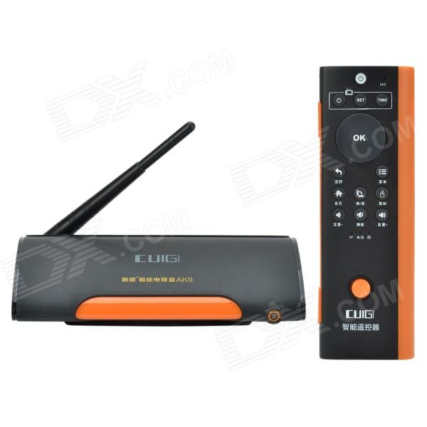 Guigi AK9 Android 4.2 Dual-Core Mini PC w/ Wi-Fi, 2.0MP Cam, 1GB RAM, 8GB ROM - Black + Orange